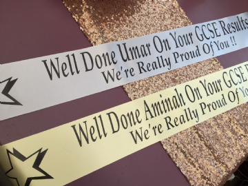 Personalised Exam Results Banners